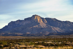 The Guadalupe Mountains