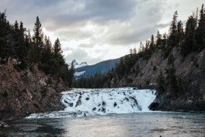 Bow Falls in Banff