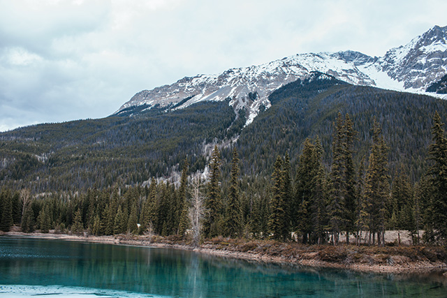 Faeder Lake in Yoho