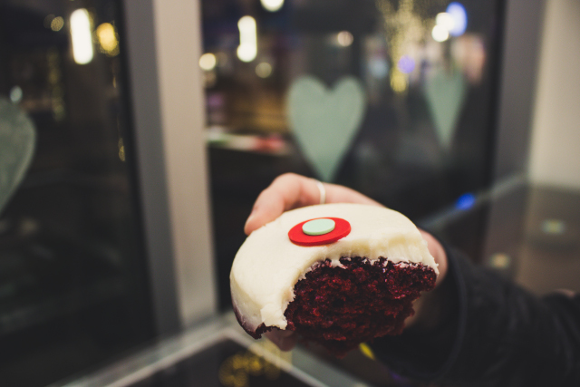 Cupcake From Sprinkles on the LINQ Promenade