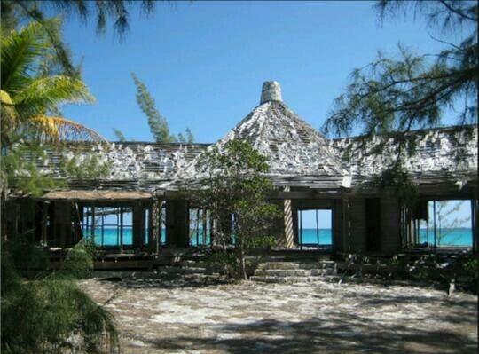 Carlos Lehder's Former Residence on Norman's Cay